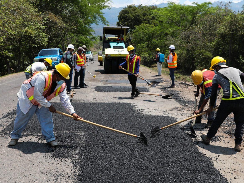 Presidente Hernández supervisa obras en Visita Sorpresa: Reconstrucción de carretera Jesús de Otoro-La Esperanza beneficiará a 600.000 personas