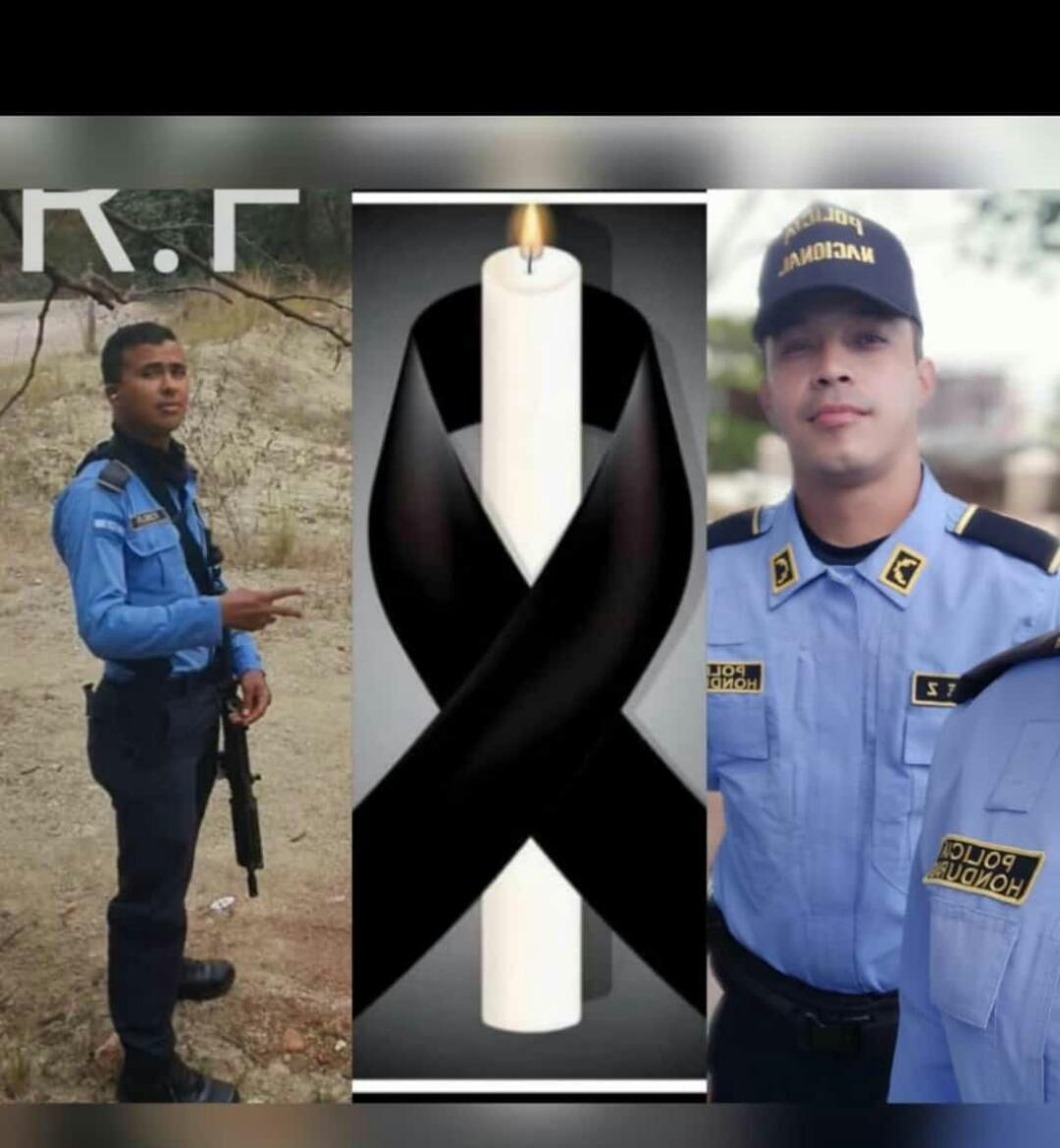 Autoridades policiales investigan al asesinato de dos agentes policiales en la colonia Cerro Grande de Tegucigalpa