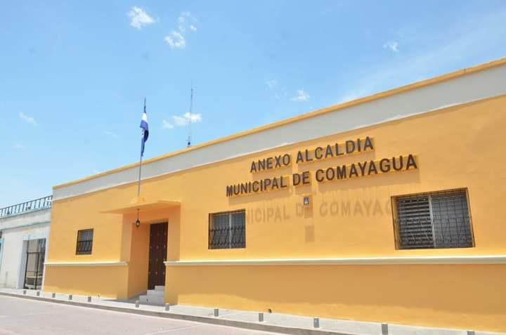 Inauguran anexo de la alcaldía de Comayagua