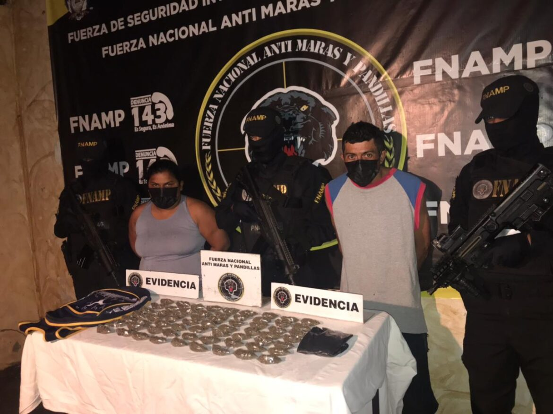 FNAMP no le da tregua a la lucha contra el tráfico de drogas y captura a pareja dedicada a este ilícito