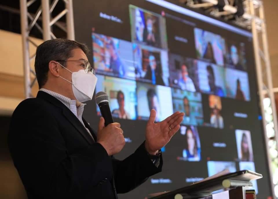 Presidente Hernández agradece apoyo de países amigos para que el pueblo hondureño tenga la vacuna contra la covid-19