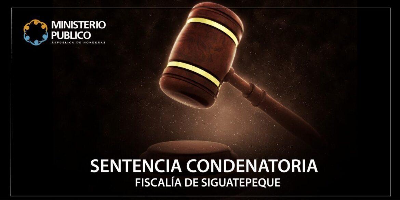 Más de 11 años de reclusión para abusador sexual de Siguatepeque