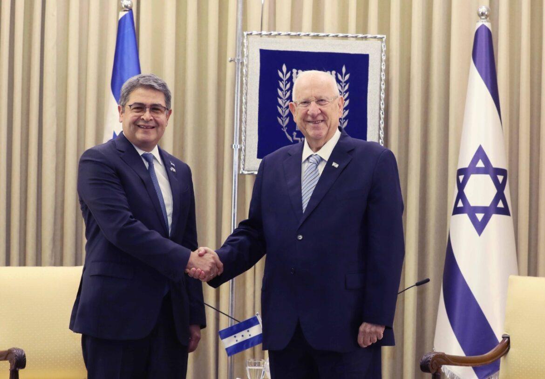 """Presidente Hernández en inauguración de la Embajada en Jerusalén: """"Puedo decir sin dudar que la amistad de Honduras con Israel ha sido una bendición para mi país"""""""