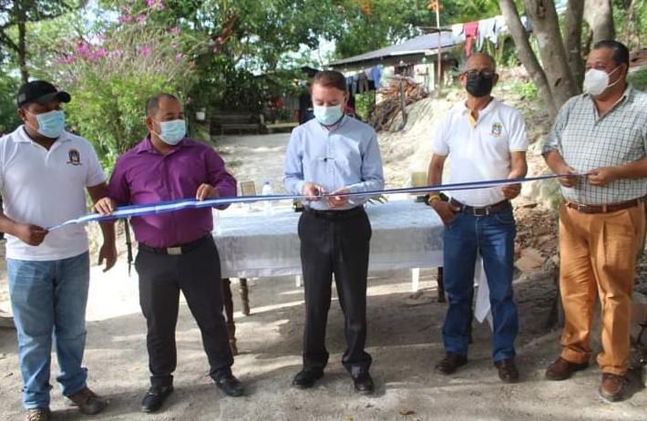 Alcaldía de Comayagua inaugura millonario proyecto de alcantarillado sanitario en el barrio La Guama de esta ciudad