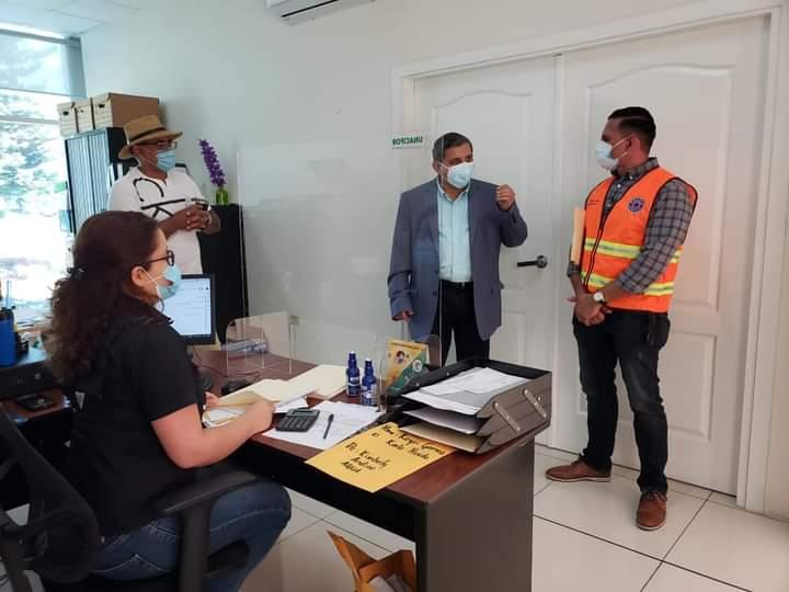 Inicia retorno seguro de empleados del área de administración de la UNACIFOR