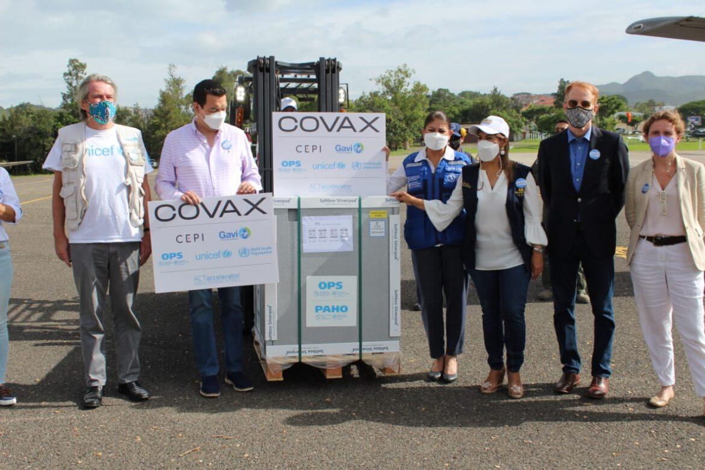 Honduras recibe 187,200 dosis de vacunas contra el Covid-19