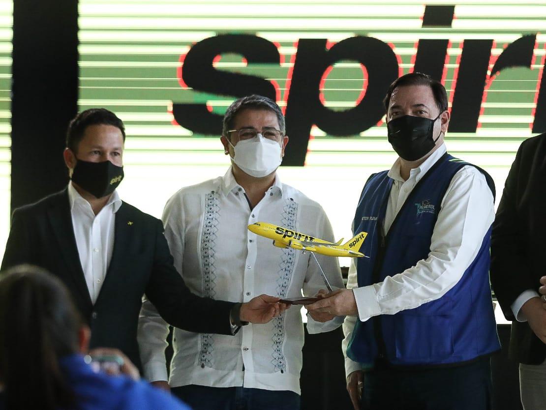 Spirit Airlines abrirá tres rutas desde el Aeropuerto Internacional de Palmerola