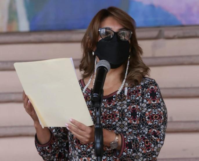 Este día en comparecencia de prensa la ministra de salud, Alba Consuelo Flores, anunció que en un plazo de no más de tres semanas llegará el segundo componente de la dosis de Sputnik V al país.