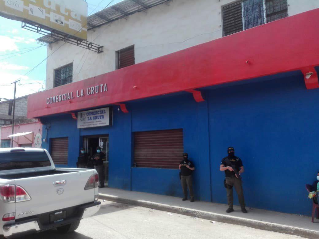 Aseguramientos y capturas en La Esperanza contra lavadores de activos vinculados al tráfico de drogas