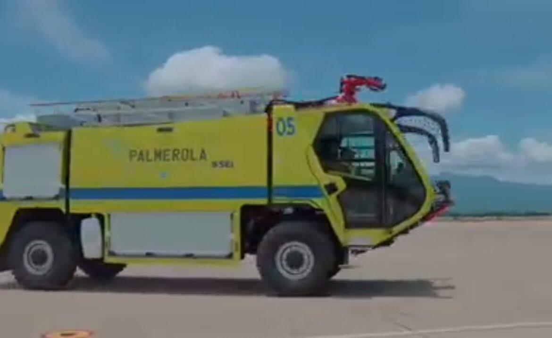 Palmerola se prepara con equipo moderno y de última tecnología para su apertura