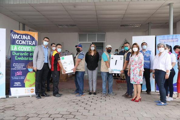 Honduras recibe esta semana mas de 315 mil vacunas de la farmacéutica Pfizer