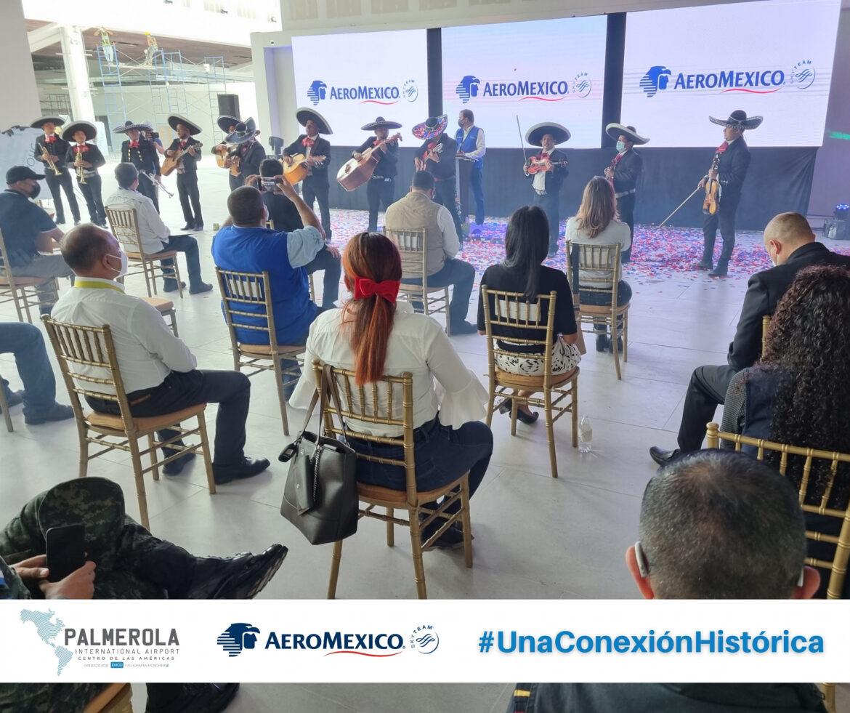 AeroMéxico tendrá tres conexiones a la semana desde Palmerola