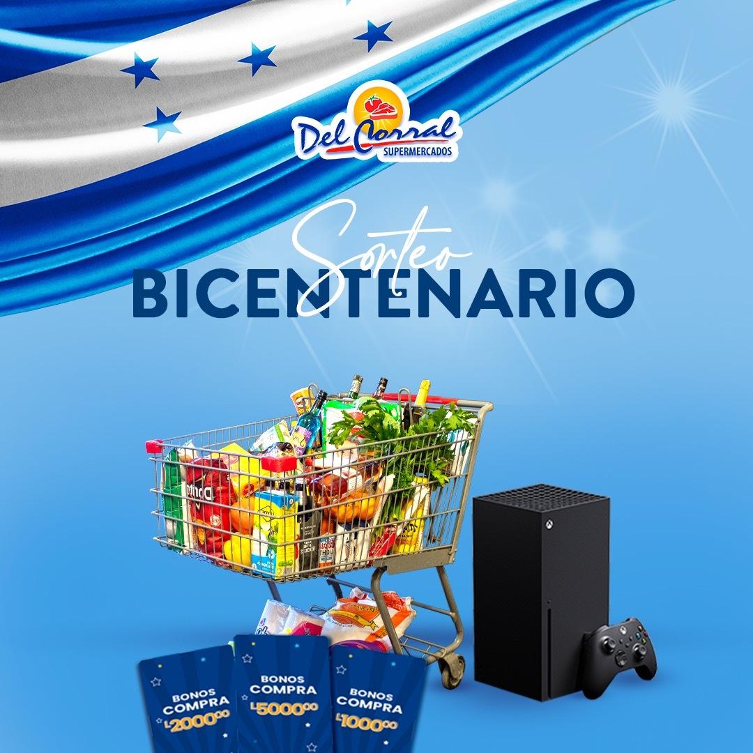 """Supermercados Del Corral realizará sorteo BICENTENARIO de la promoción de """"Los meses más premiados"""""""