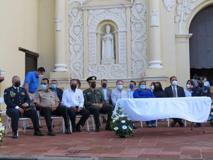 Comayagua celebra con mucho jubilo el Bicentenario de independencia patria