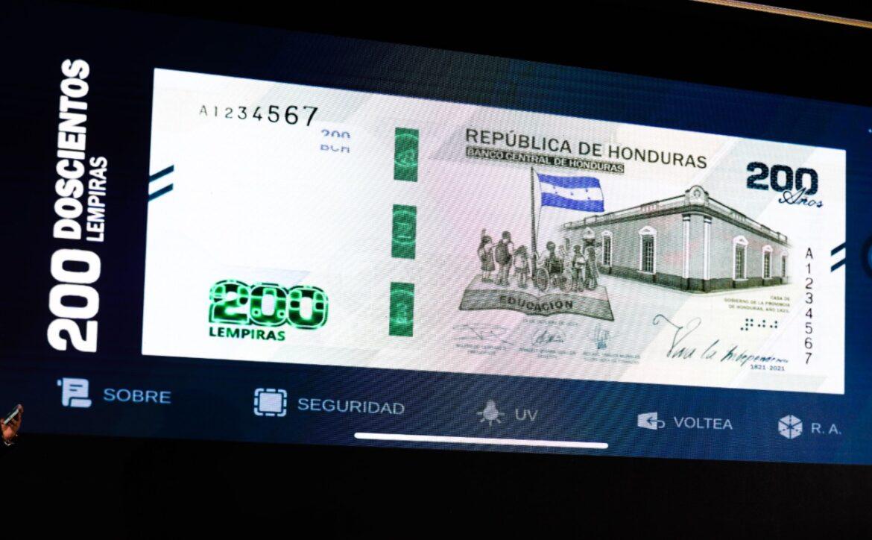 BCH lanza innovadora aplicación tecnológica para el nuevo billete de 200 lempiras