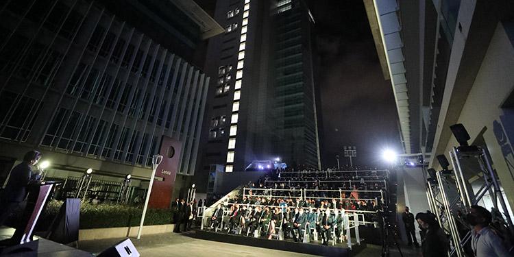Presidente Hernández inauguró Centro Cívico Gubernamental