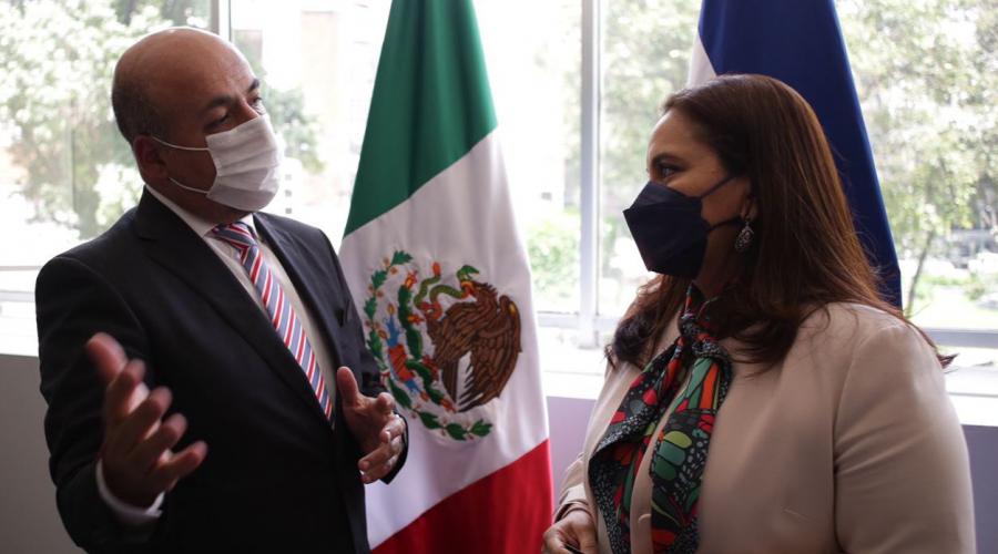 Honduras acuerda trabajar en conjunto y coordinadamente con México en beneficio de migrantes