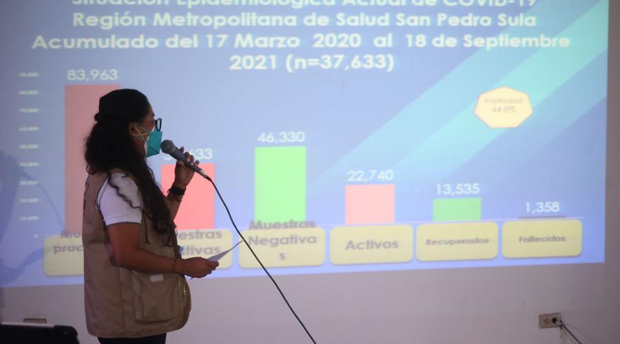 Salud pide a la población vacunarse contra la covid-19 antes del Feriado Morazánico